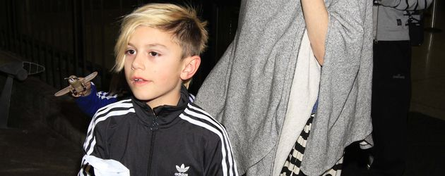 Gwen Stefani und Kingston Rossdale