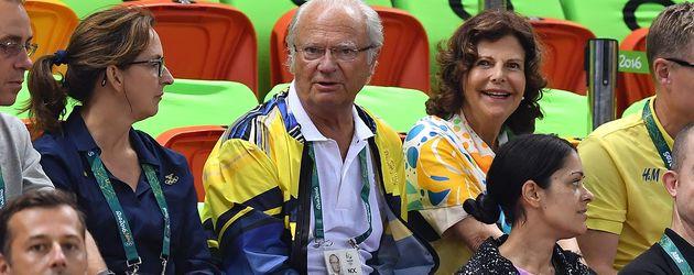 König Carl Gustav und Königin Silvia in Rio