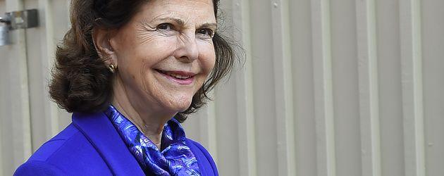 Königin Silvia von Schweden bei einem Termin in Stockholm