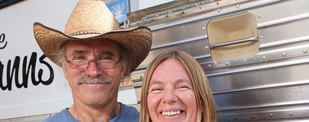 """Konny und Manuela Reimann auf der """"Caravan-Messe"""" in Düsseldorf"""