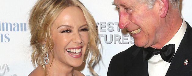 Kylie Minogue und Prinz Charles