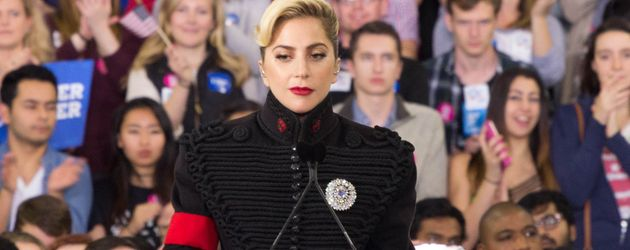 Lady GaGa als Unterstützung beim Wahlkampf von Hillary Clinton in North Carolina