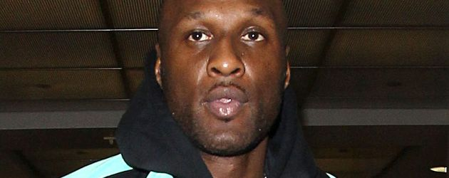 Lamar Odom am LAX Airport