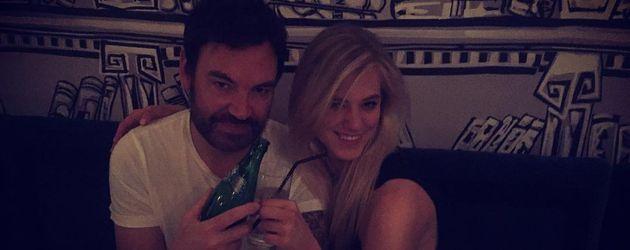 Larissa Marolt und Ex-Freund Whitney Sudler-Smith an seinem Geburtstag