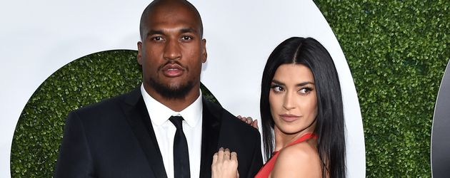 Football-Spieler Larry English und TV-Star Nicole Williams