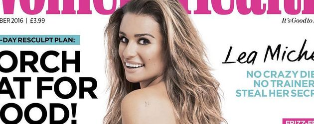 Lea Michele auf dem Cover der Women's Health UK (September 2016)