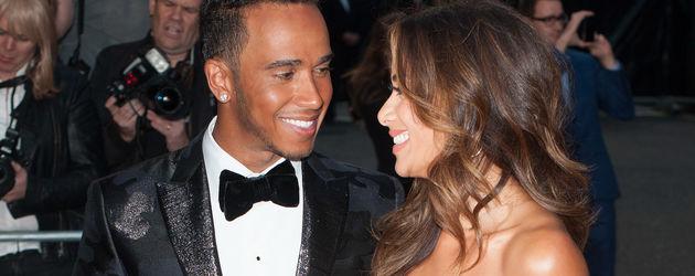 Lewis Hamilton und Nicole Scherzinger