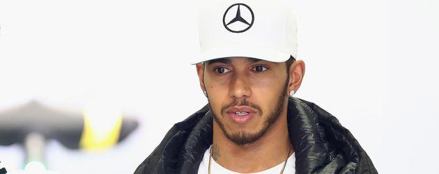 Lewis Hamilton vor dem Rennen in Mexiko-Stadt