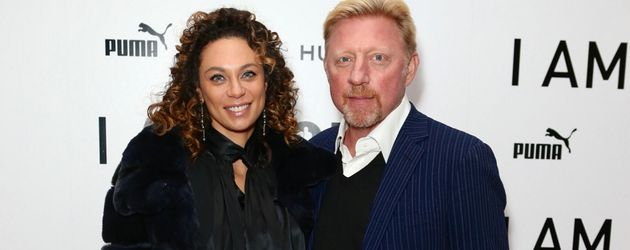 "Lilly und Boris Becker im November 2016 bei der ""I Am Bolt""-Filmpremiere in London"