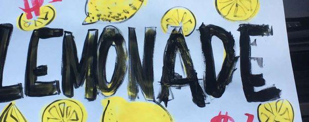 Limonaden-Stand der Kardashian-Kinder