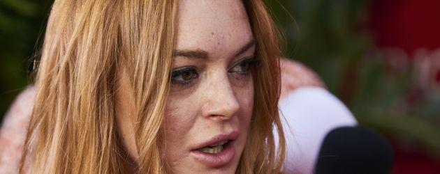 Lindsay Lohan in Madrid