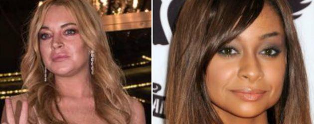 Lindsay Lohan und Raven Symone