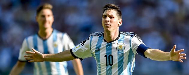 Lionel Messi bei der WM 2014