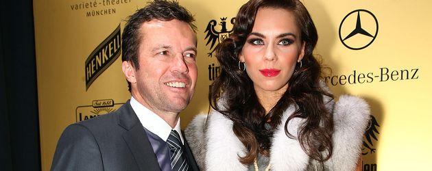 Lothar Matthäus mit seiner Ex-Frau Liliana im Jahr 2009