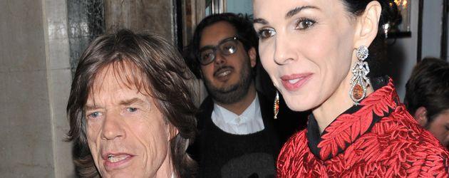 Mick Jagger und L'Wren Scott