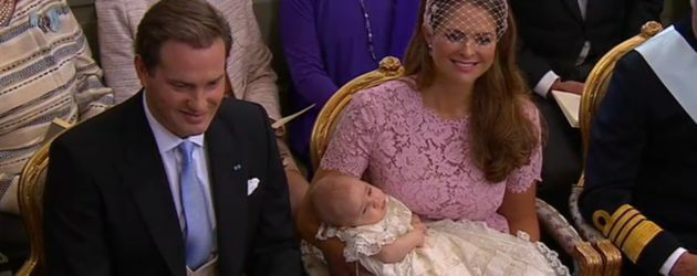 Prinzessin Leonore von Schweden, Madeleine von Schweden und Chris O'Neill