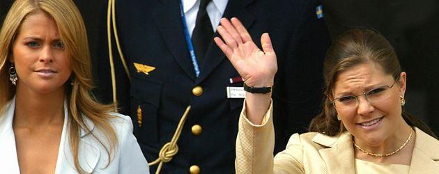 Madeleine von Schweden und Prinzessin Victoria von Schweden