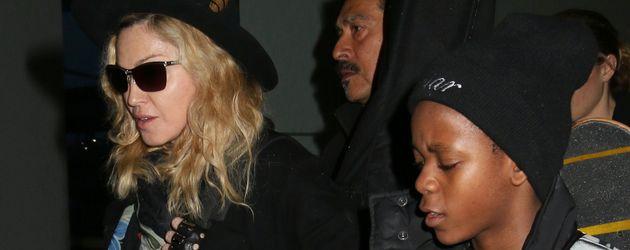 Madonna und David Banda Mwale