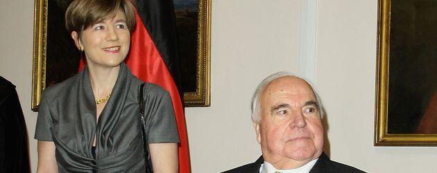 Maike und Helmut Kohl 2010