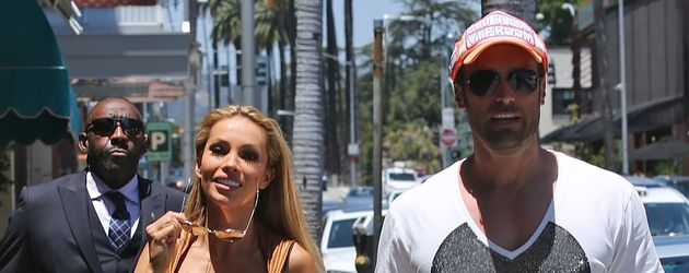 Maria und Bastian Yotta unterwegs in Beverly Hills