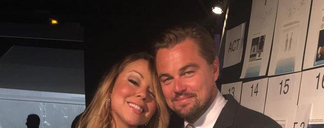 Mariah Carey und Leonardo DiCaprio