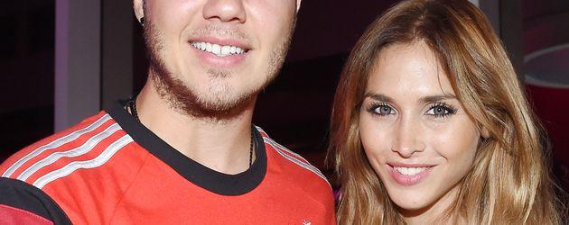 Mario Götze und Ann-Kathrin Brömmel