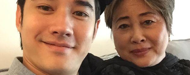 Mario Maurer mit seiner Mutter Warunya
