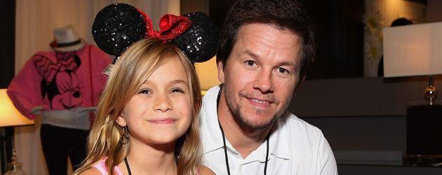 Mark Wahlberg mit Tochter Ella im Jahr 2013