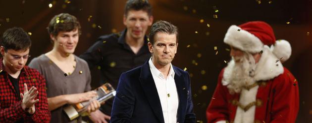 Wotan Wilke Möhring und Markus Lanz