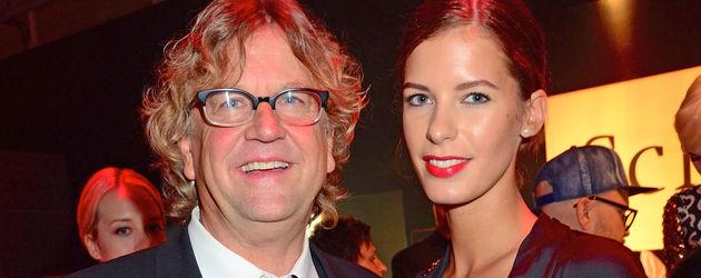 Filmproduzent Martin Krug und Model Julia Trainer