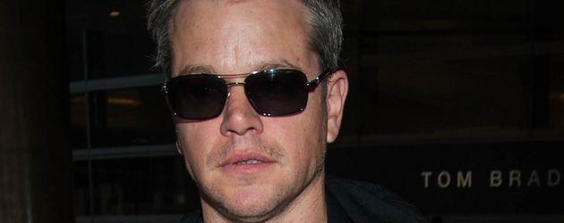 Matt Damon am Flughafen von Los Angeles