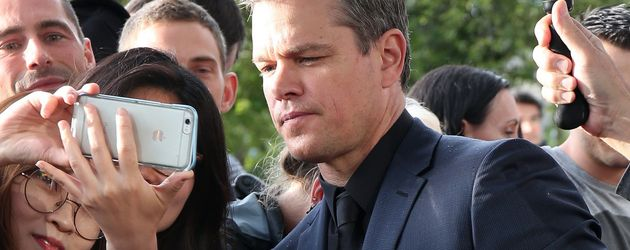 Matt Damon in Paris