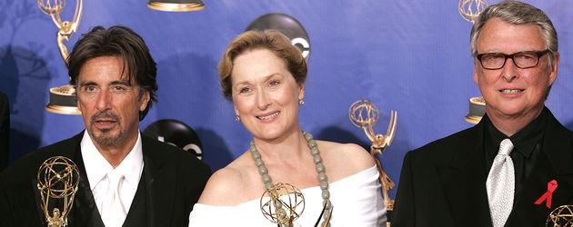 Al Pacino, Meryl Streep und Mike Nichols