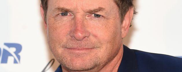 """Michael J. Fox  beim Besuch der """"Annual Charity Day""""-Veranstaltung von Cantor Fitzgerald"""