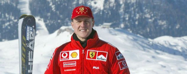 Michael Schumacher im Ski-Urlaub