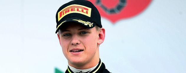 Mick Schumacher nach einem Formel 3-Rennen im April 2015 in Oschersleben