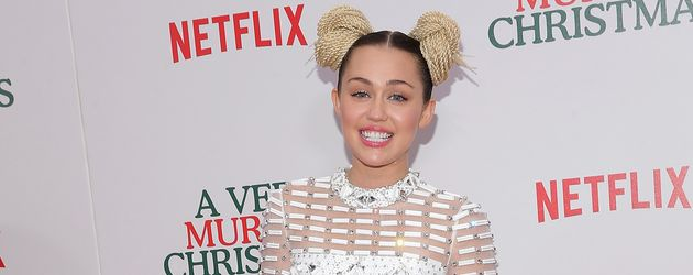 "Miley Cyrus bei der ""A Very Murray Christmas""-Premiere"