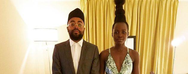 GQ-Fashion-Editor Mobolaji Dawodu und Oscar-Gewinnerin Lupita Nyong'o