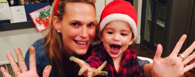 Molly Sims und Brooks Stuber