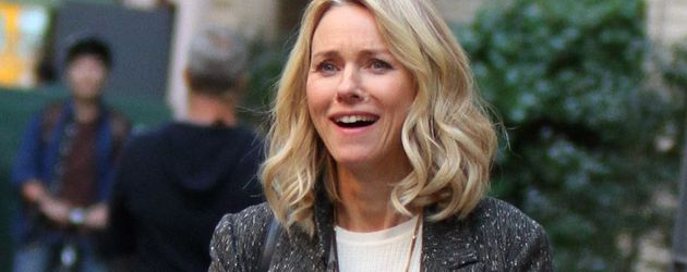 Naomi Watts am Serienset in NYC