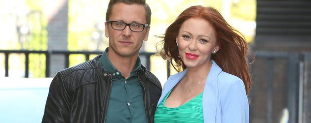 Ritchie Neville und Natasha Hamilton