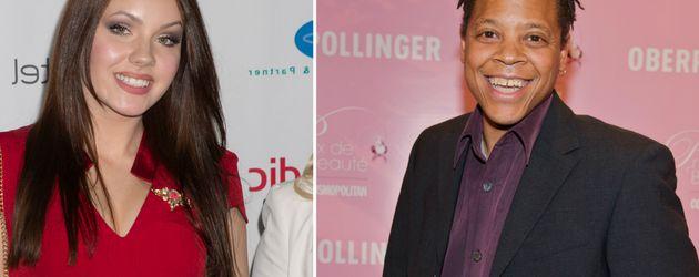 Nathalie Volk und Ricky Harris