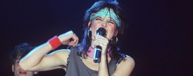 Nena bei einem Auftritt im Jahr 1984