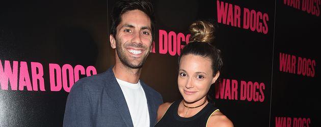"""Nev Schulman und Laura Perlongo bei der """"War Dogs""""-Premiere in New York"""