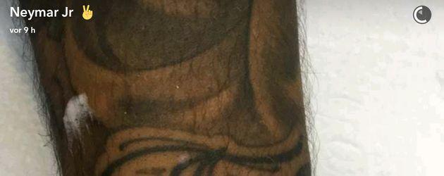 Neymars Olympia-Tattoo