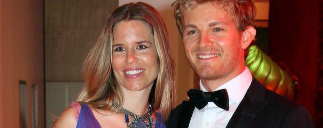 Nico Rosberg und Vivian Sibold