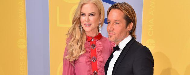 Schauspielerin Nicole Kidman und Country-Musiker Keith Urban