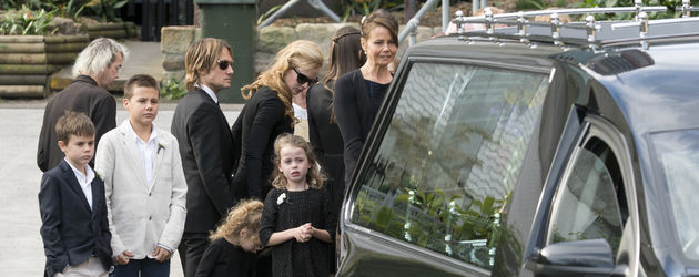 Nicole Kidman, Keith Urban, Faith Margaret Kidman Urban und Sunday Rose Kidman Urban