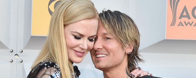 Nicole Kidman und Keith Urban bei den 51. Academy Of Country Music Awards 2016