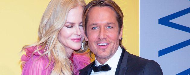 Nicole Kidman und Keith Urban bei den 50. Country Music Awards 2016 in Nashville